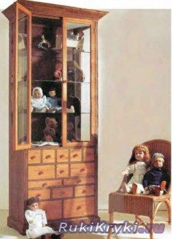 Шкаф-витрина своими руками