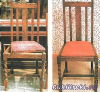 Реставрируем стул