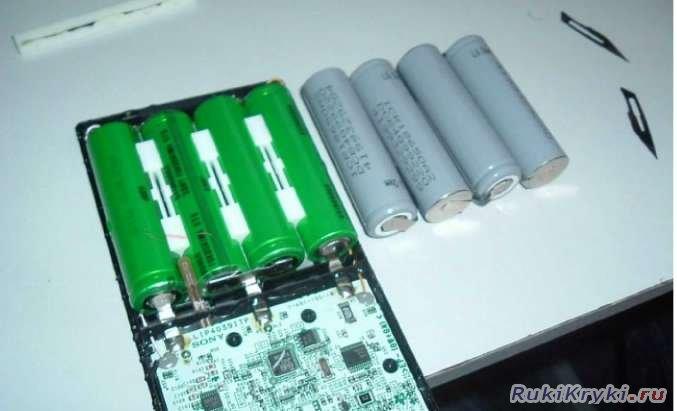Ремонт аккумуляторов ноутбуков