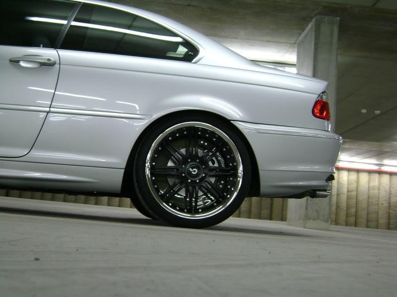 Тюнинг тормозных дисков  BMW 323 ci