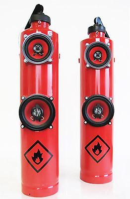 Колонки из огнетушителя