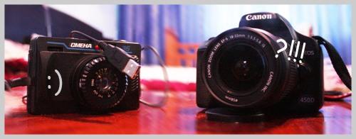 Из пленочного в цифровые фотоаппараты
