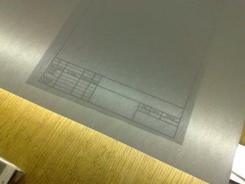 Приспособление для копирования чертежей
