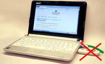 Убираем 3G-модем внутрь ноутбука
