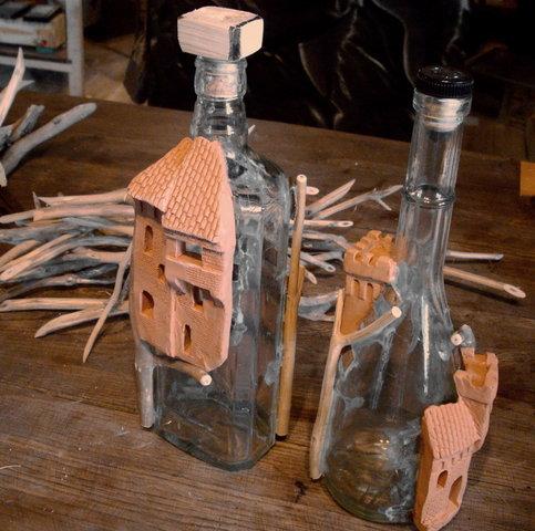 Поделки из бутылок