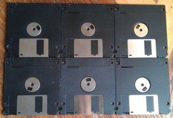 Коробочка-шкатулка из дискет