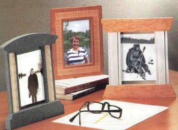 Самодельные рамки для настольных фотографий