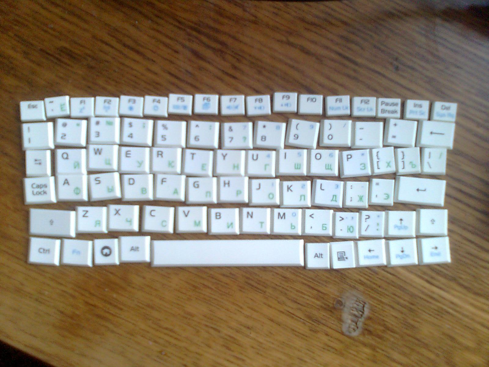 Чистка ноутбука от пролитого чая