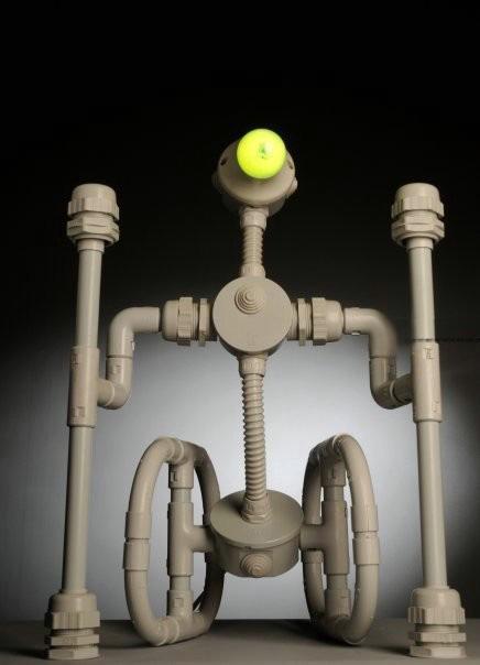 Лампа-ночник в виде робота