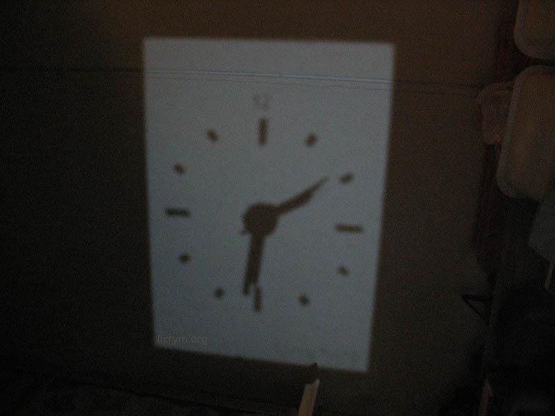 Аналоговые проекционные часы