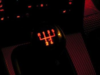 Ручка КПП — LED подсветка