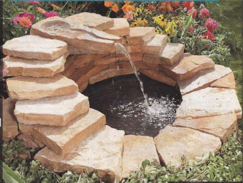 Декор пруда