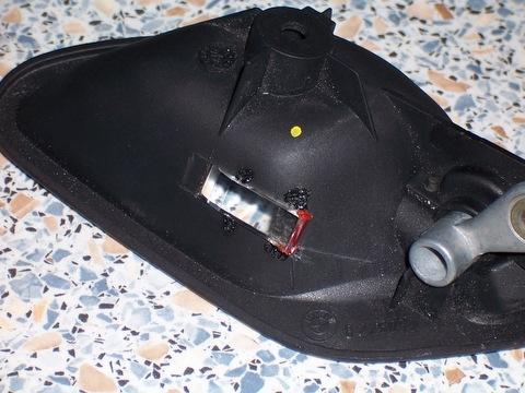 Подсветка внутренних ручек автомобиля