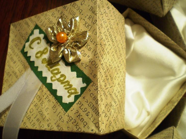 Коробочки для подарка своими руками