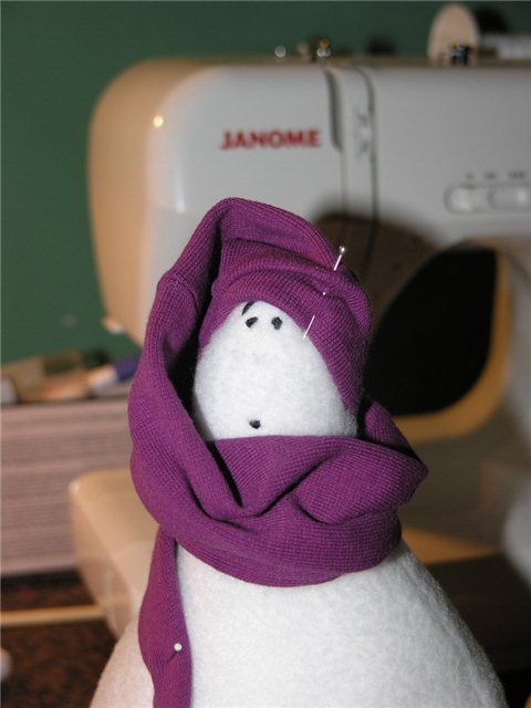 Снеговики своими руками. Пять мастер-классов