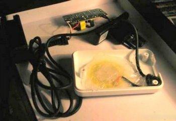 Ультразвуковая стиральная машинка из gsm зарядки