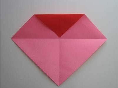 Сердце оригами