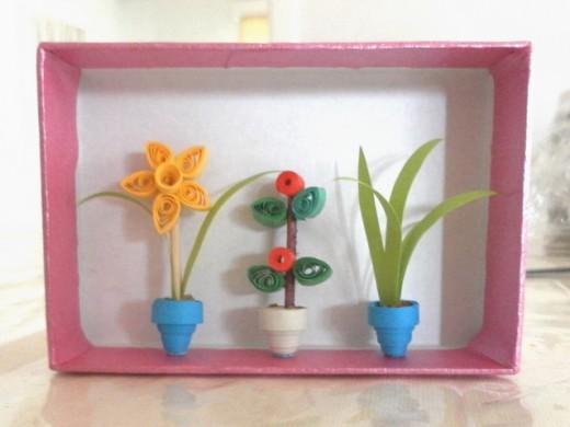 Квиллинг - миниатюрные цветы