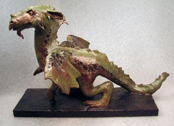 Папье маше - дракон