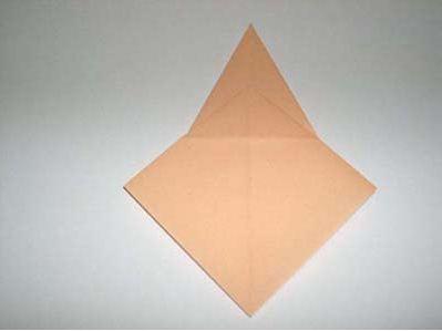 Птица оригами. Базовая заготовка