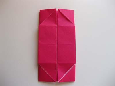 Коробочка оригами