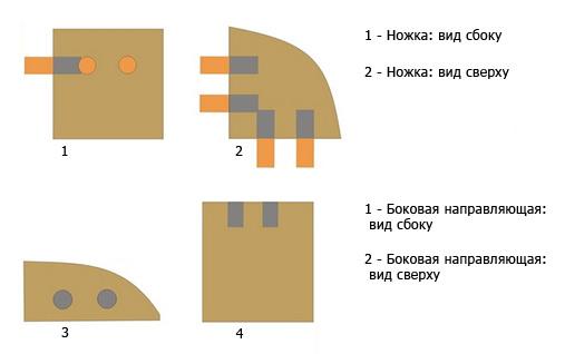 Как сделать мебель из веток