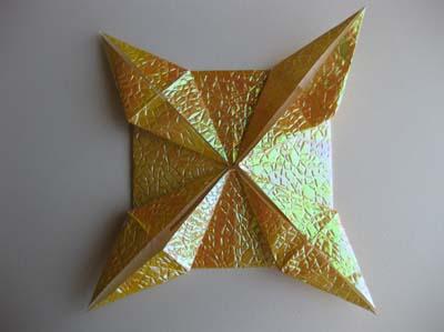Оригами Бриллиантовая звезда