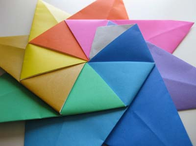 Модульное оригами «Восьмиконечная звезда»