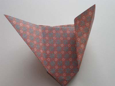 Ваза Оригами сложной конструкции