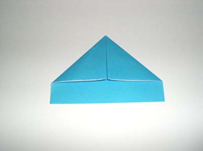 Оригами пилотка