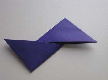 Оригами Звезда ниндзя