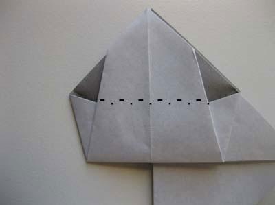 Оригами Крылатая шляпа