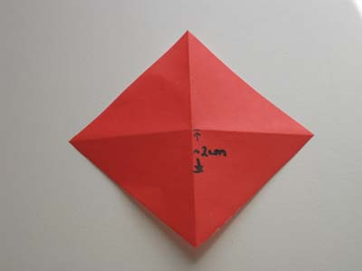 Оригами Божья коровка