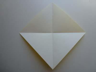 Оригами Лицо утки