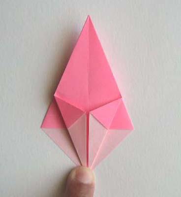 Оригами Лилия