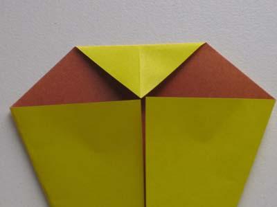 Оригами Пасхальный цыпленок