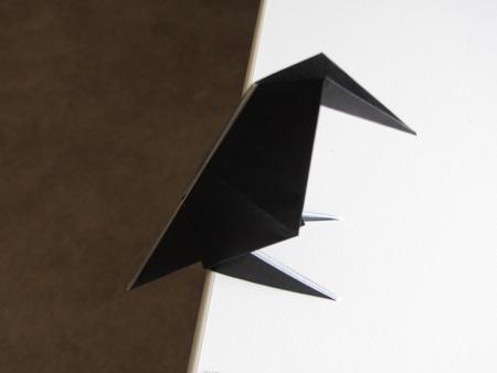 Оригами Ворона