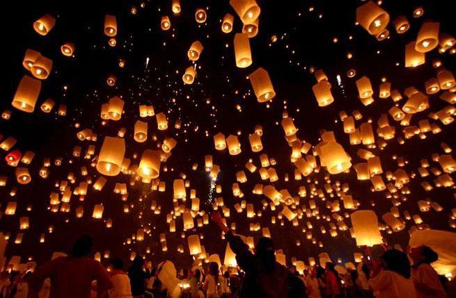 Небесные фонарики своими руками