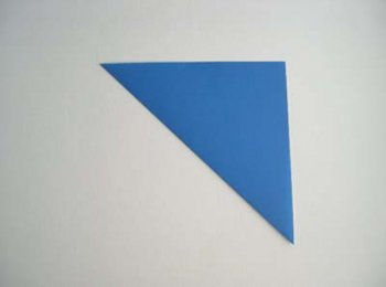 Простое оригами Лодка