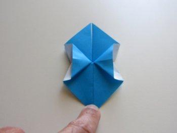 Оригами Василек