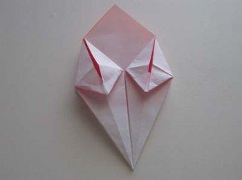 Оригами День цветка лилия