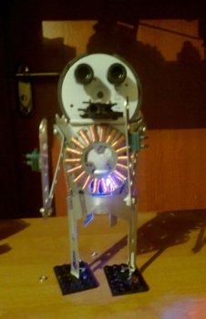 Робот из флопика