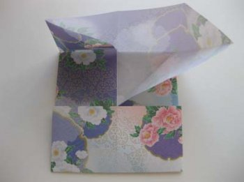 Базовая заготовка оригами Лодка