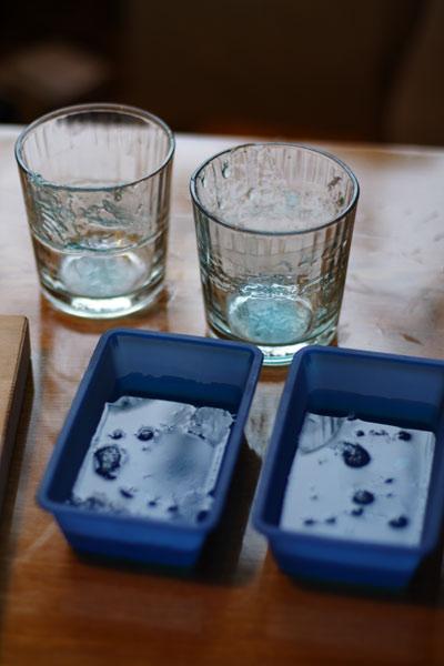 Мыло своими руками - Голубые окошечки