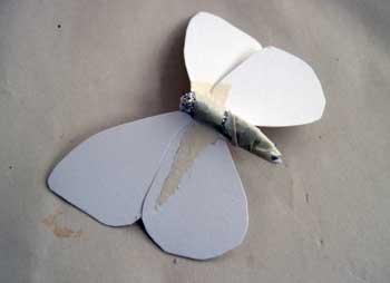 Бабочка своими руками