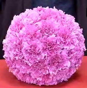 Цветочный шар Бал цветов