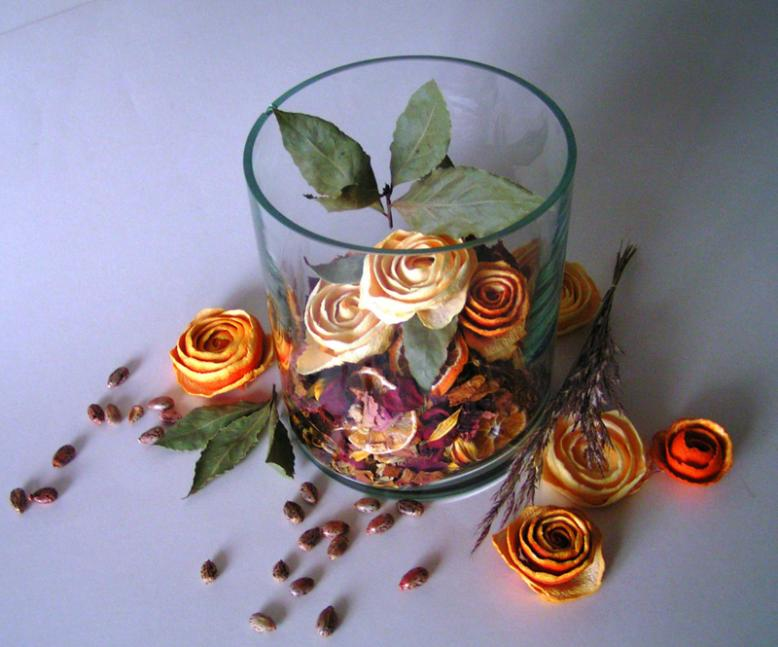 Оранжевые розы, или новая жизнь продовольственных отходов