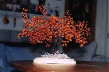 Сакура из бисера