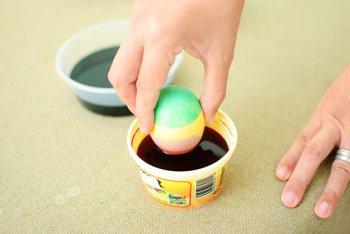Техника украшения пасхальных яиц