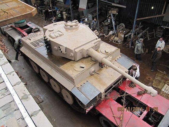 Как делали танк